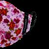 Mascarilla lila floral 2