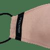 Mascarilla de lino rosa ARMATTA 1