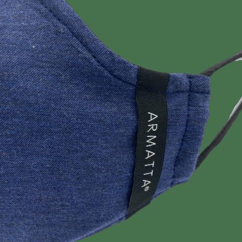 Mascarilla Otoño 2020 azul ARMATTA 3