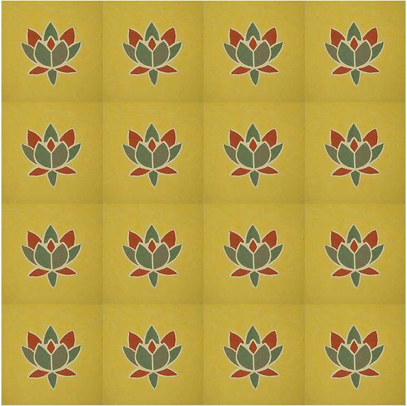 Ladrilho Flor de Lotus