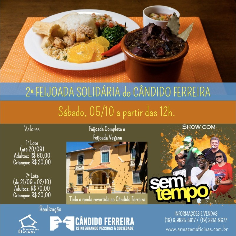 Feijoada Solidária Candido Ferreira