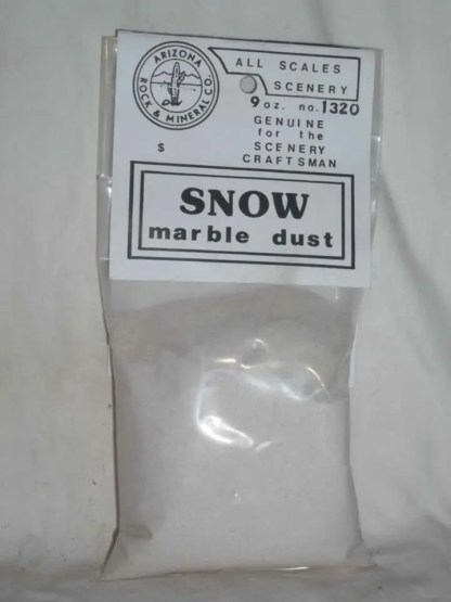 1320 White Marble Powder Snow