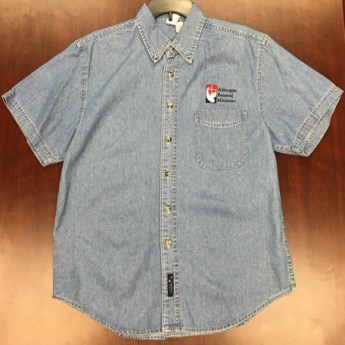 Denim Short Sleeve Shirt