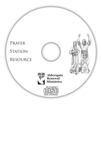 Prayer Station Resource CD