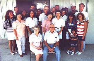 Clarence and Zona Armbruster family