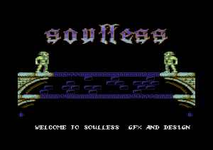 Soulless title screen