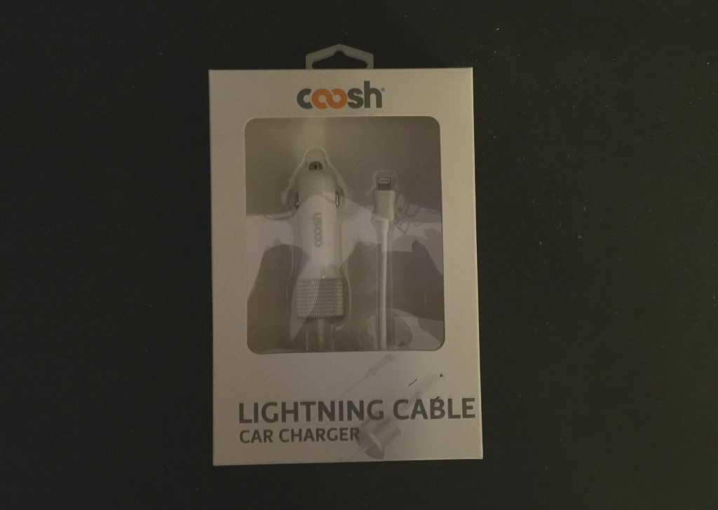 Like other Coosh products, the Lightning Cable Car Charger is well packaged and well designed.