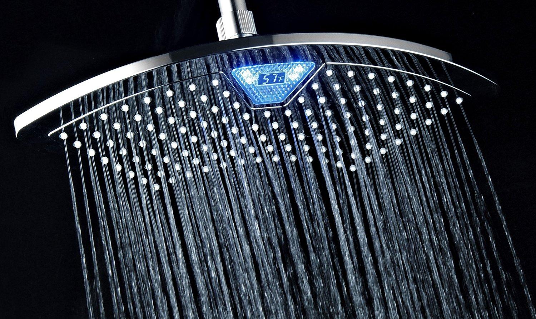 Review: DreamSpa AquaFan Rainfall LED/LCD Shower Head