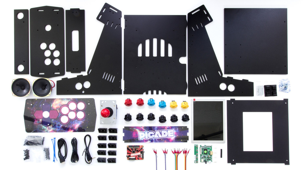 Building the Picade Mini Arcade Cabinet: Part 02