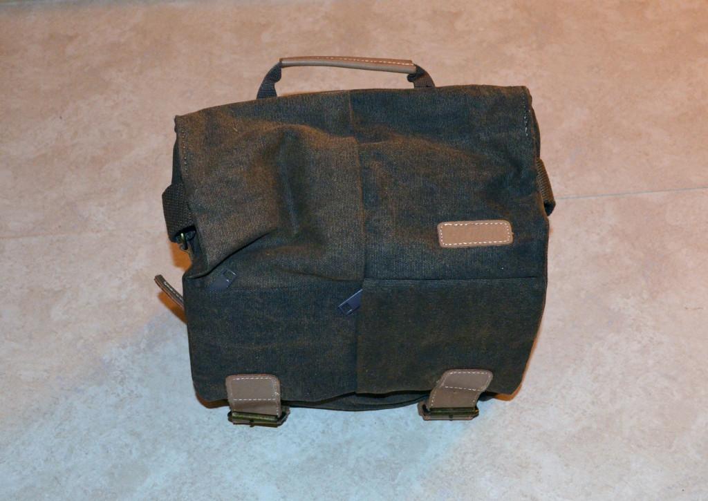 Esddi Caden N2 Brown Canvas Camera Bag
