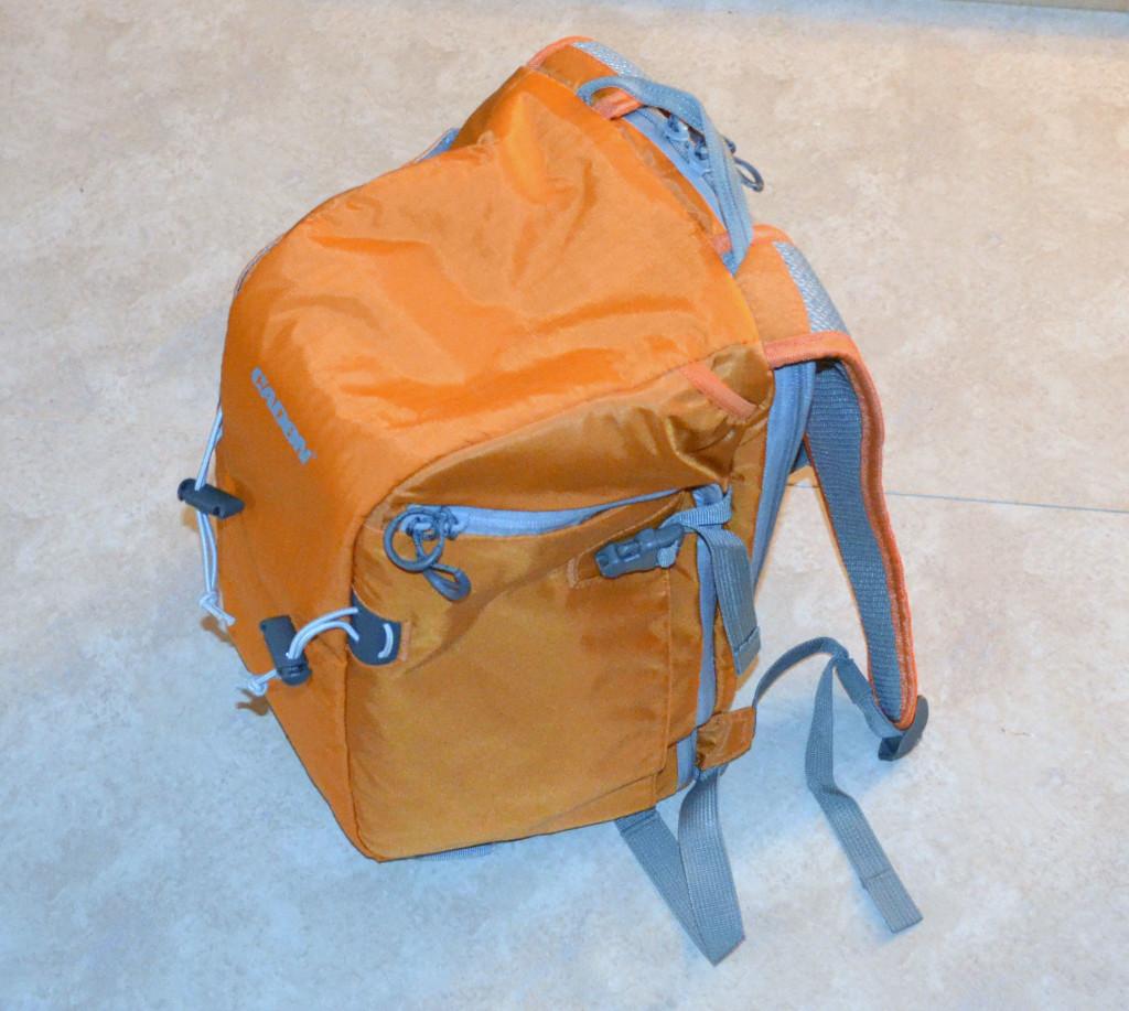Esddi Caden E5 Bright Orange Nylon Camera Backpack