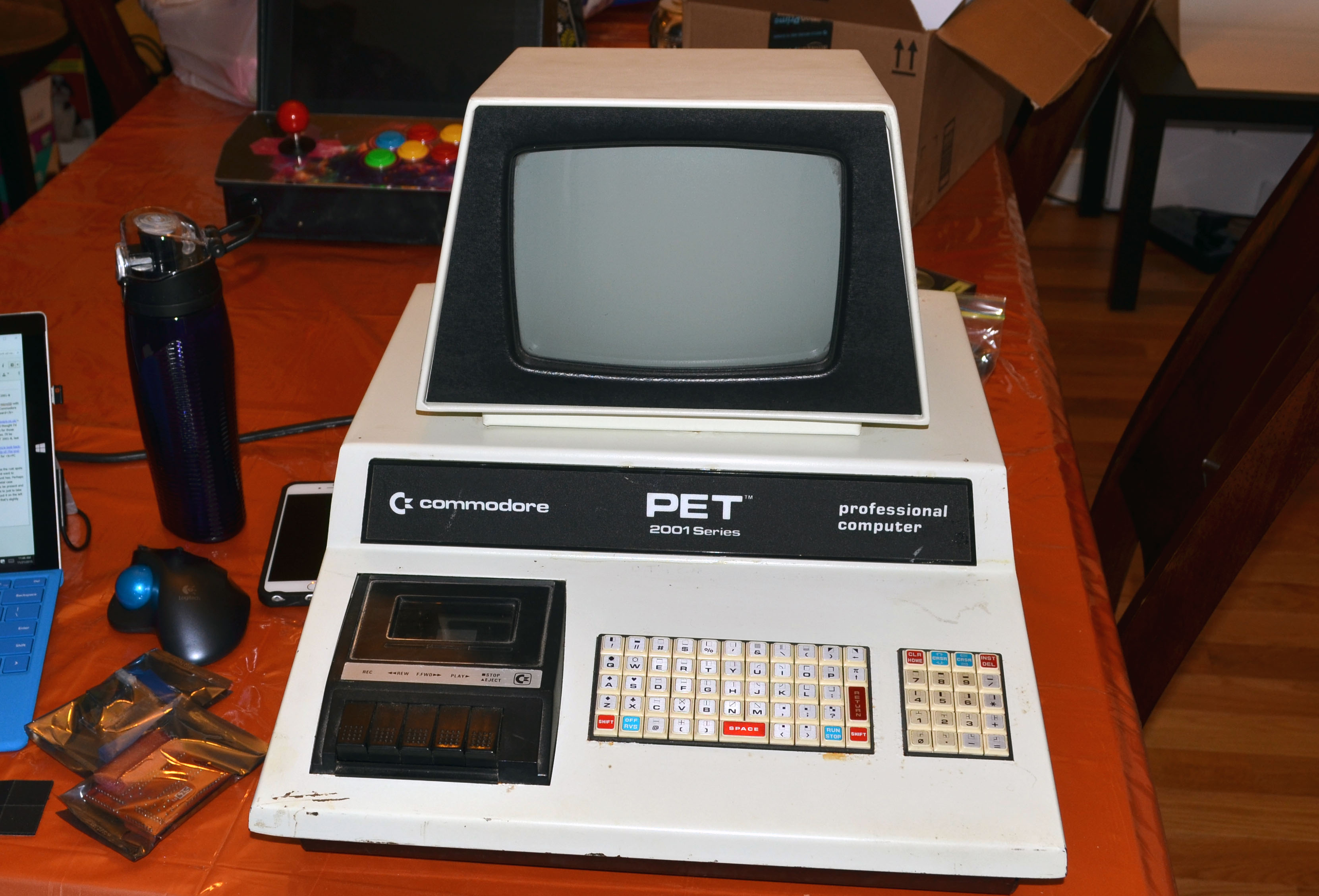 Upgrading the Commodore PET 2001-8: Part 1 - Armchair Arcade