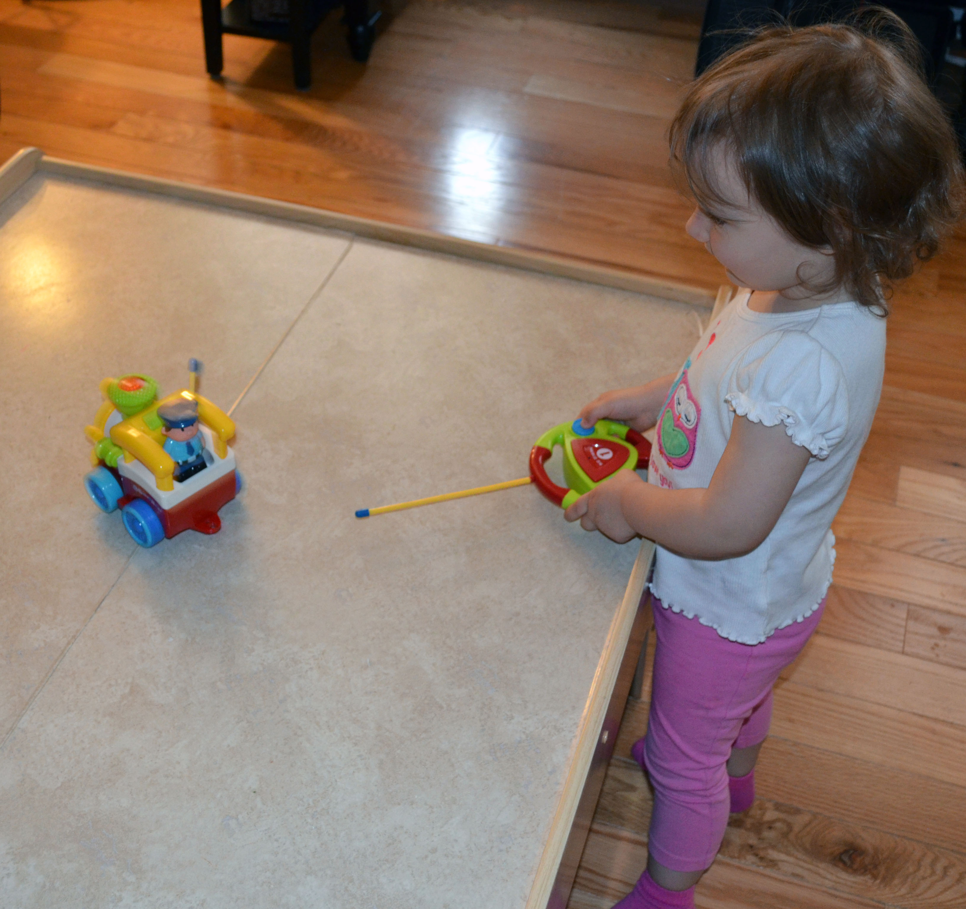 My youngest daughter getting the hang of it.