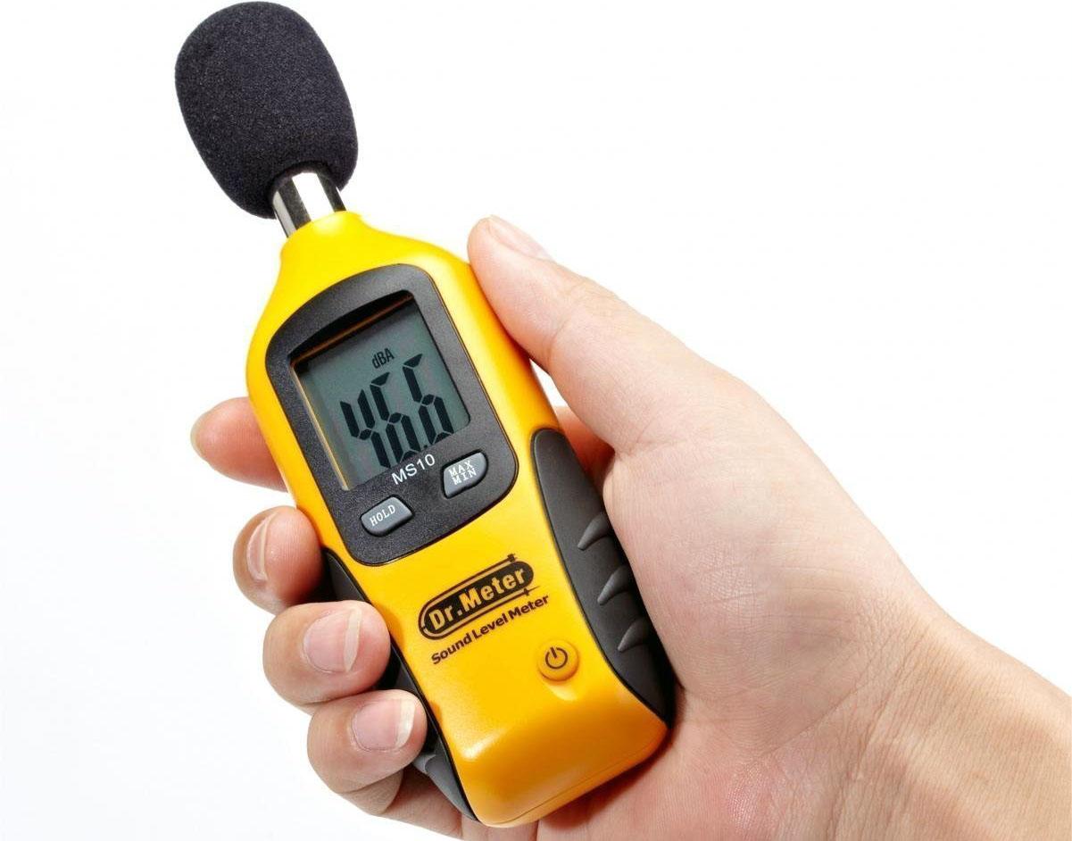 Review: Dr.Meter MS10 Digital Decibel Sound Level Meter
