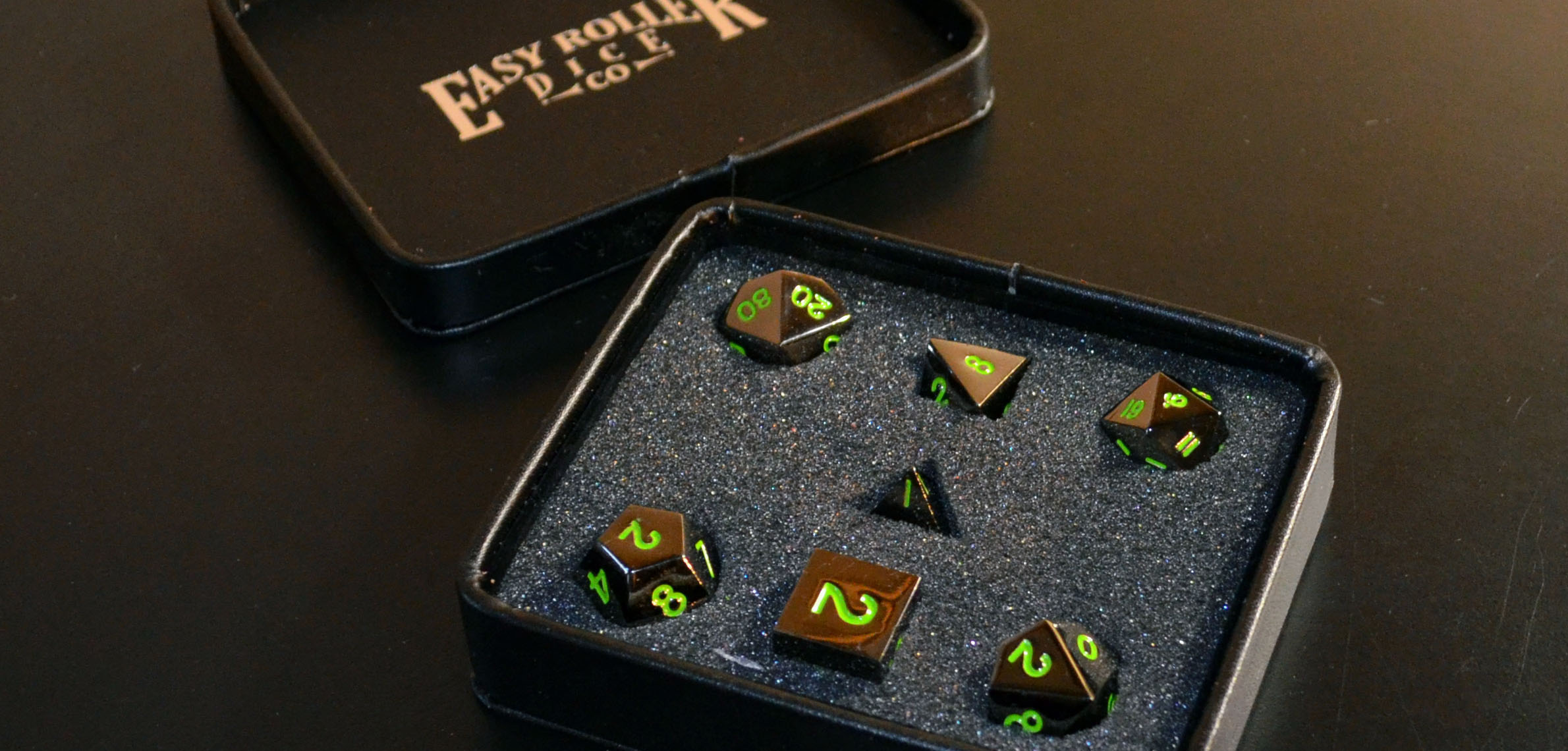 Review: Easy Roller Dice Co. Gaming Dice, Four Different Varieties