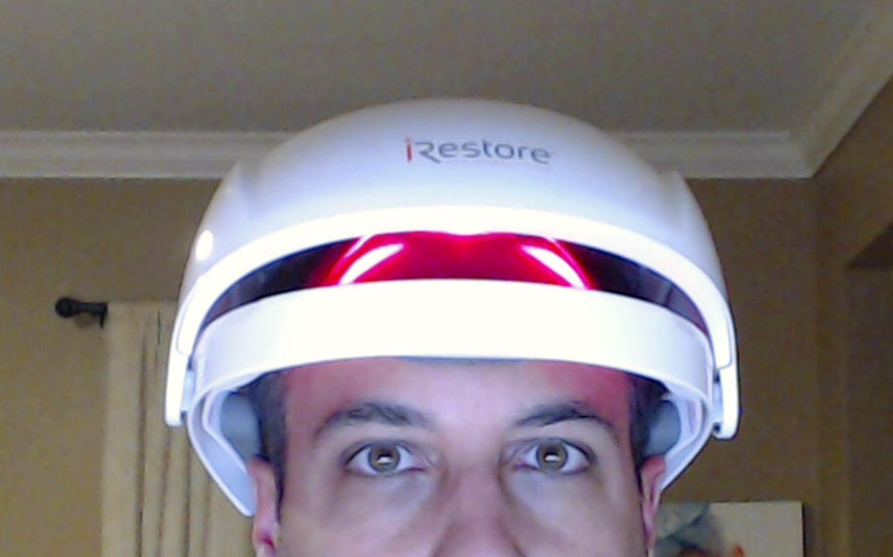 Lasering my head.