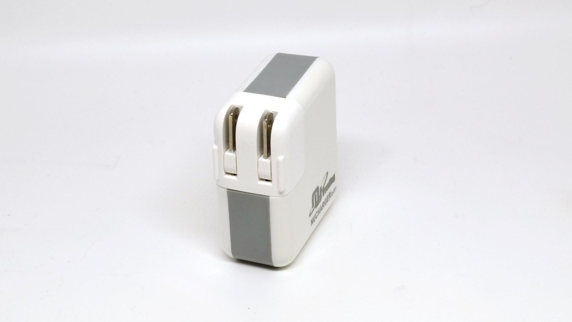 With the US adapter, it's quite compact.