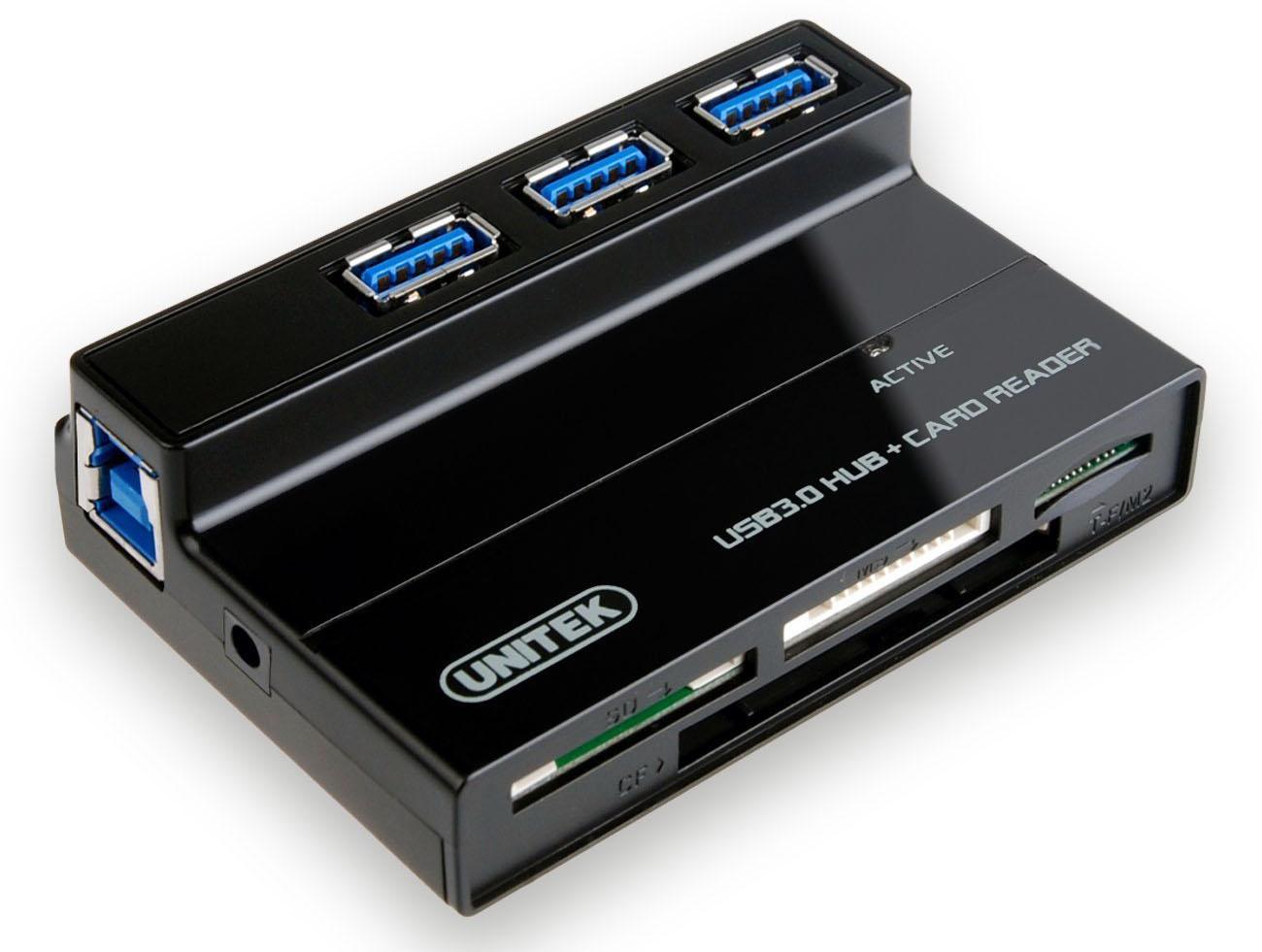 Review: Unitek 3 Port USB 3.0 Hub with Card Reader
