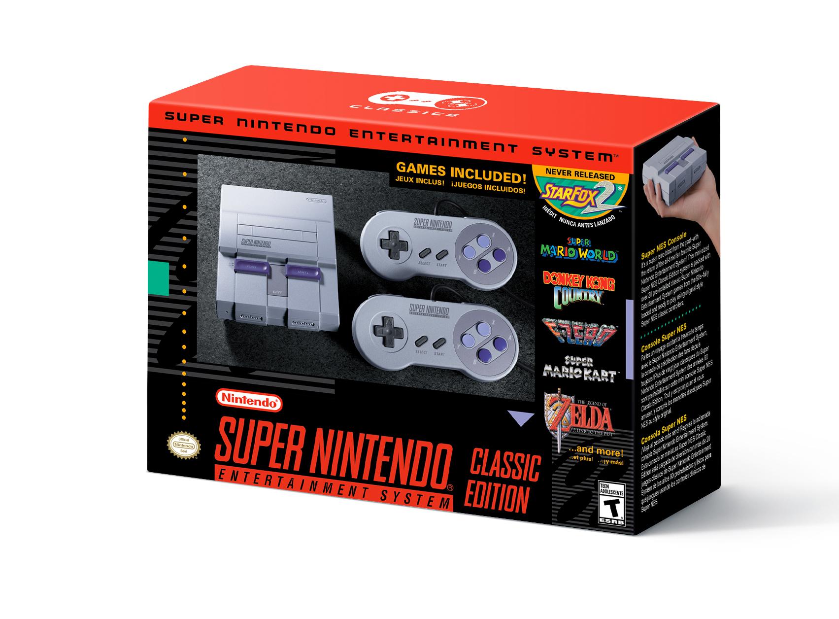 Nintendo Officially Announces Super NES Classic Edition!