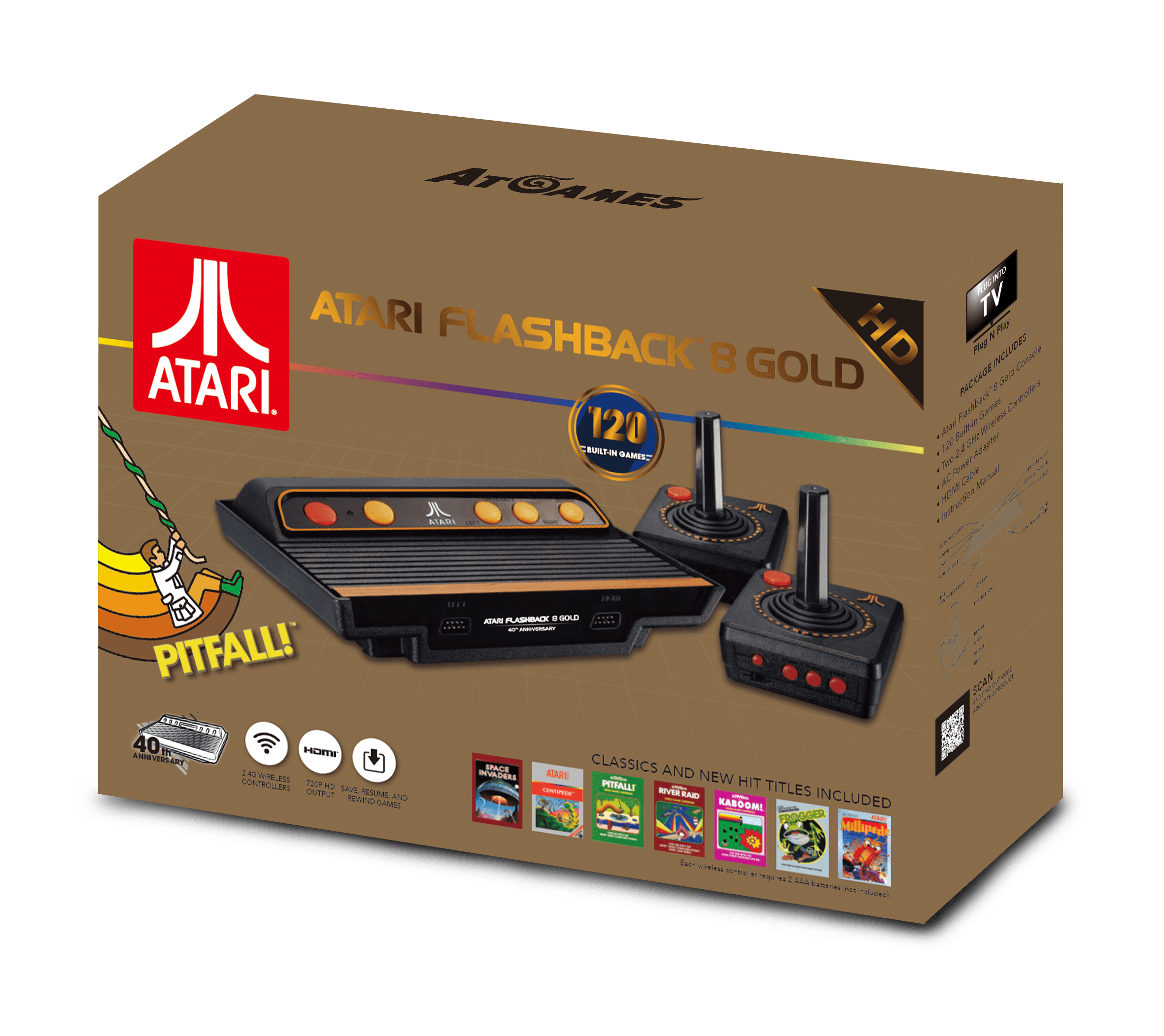 Atari Flashback 8 Gold (2017): The Official Game List