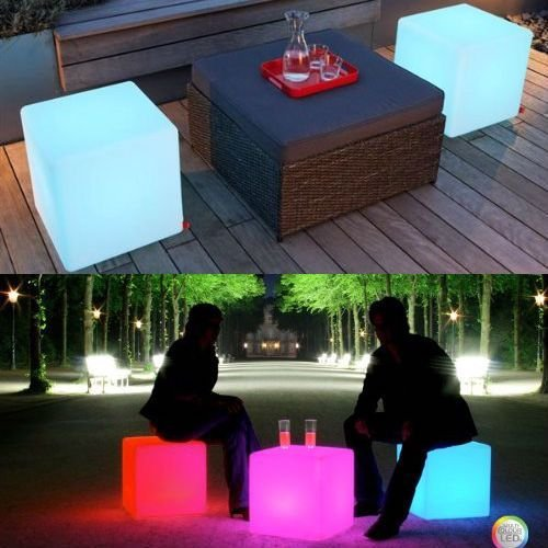 Review: LOFTEK LED Cube Light and Seat