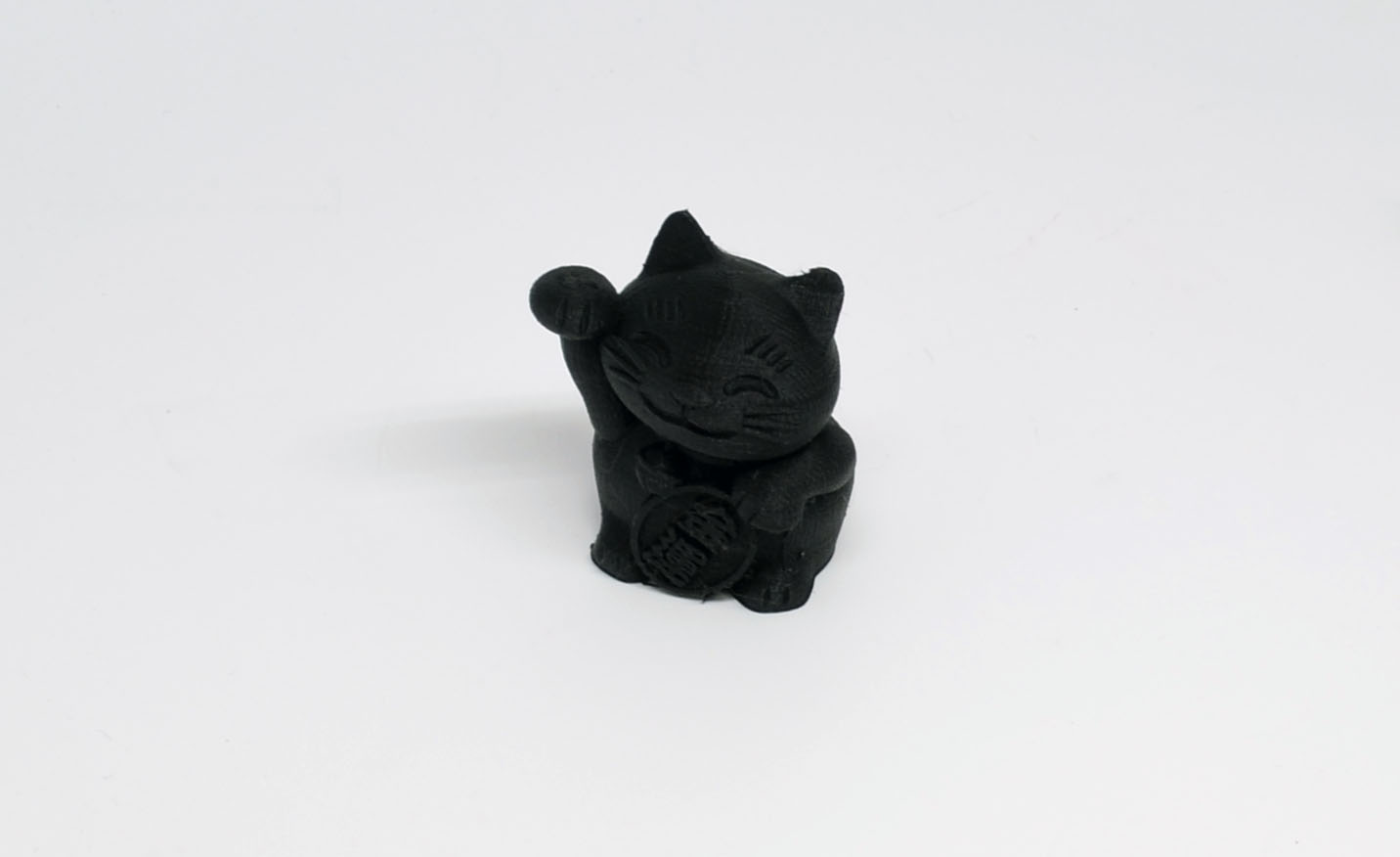 The final Fortune Cat looks great.
