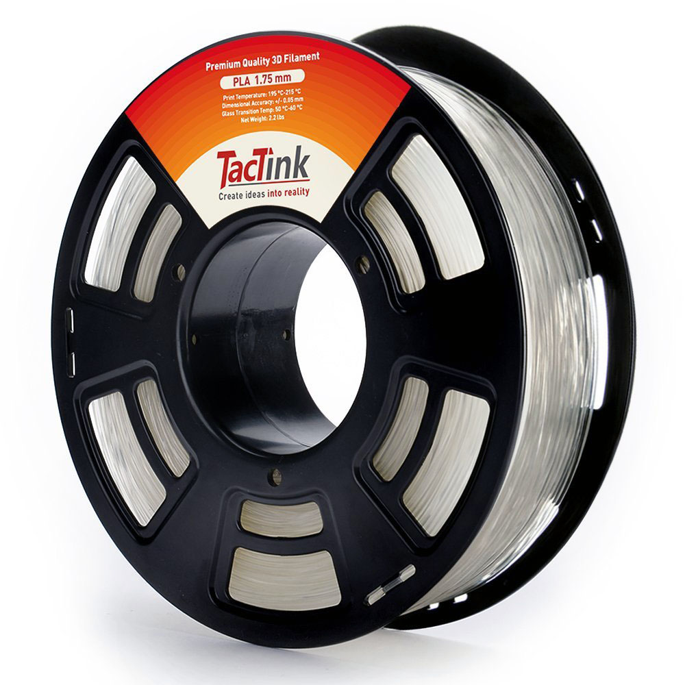 Review: Tactink Clear PLA 1.75mm 3D Printer Filament