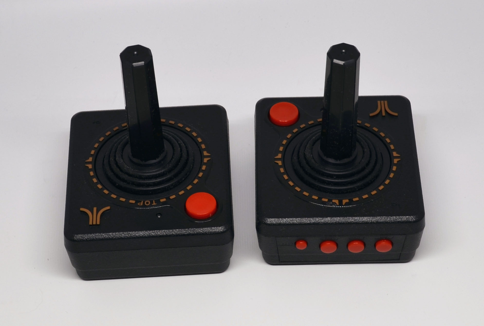 The joysticks.