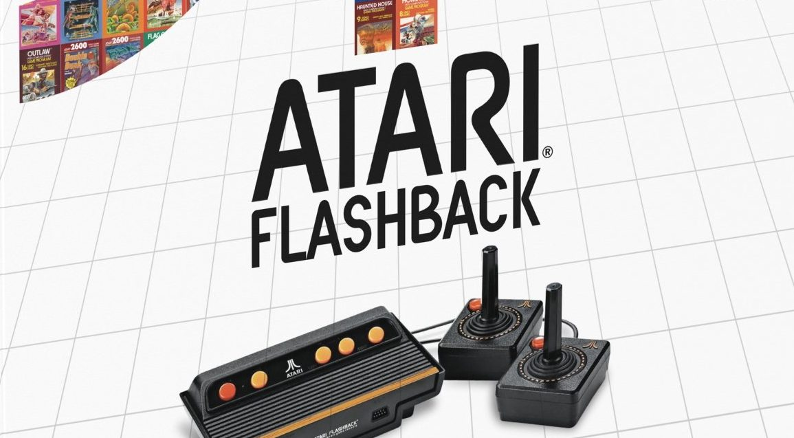 How Atari 2600 controls and switches map to the 2017 Atari Flashback products