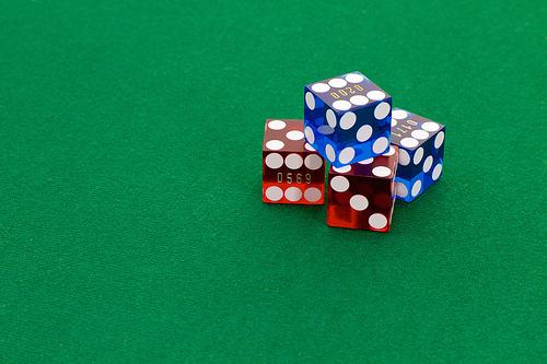 """Casino Dice"" (Public Domain) by davidgsteadman"