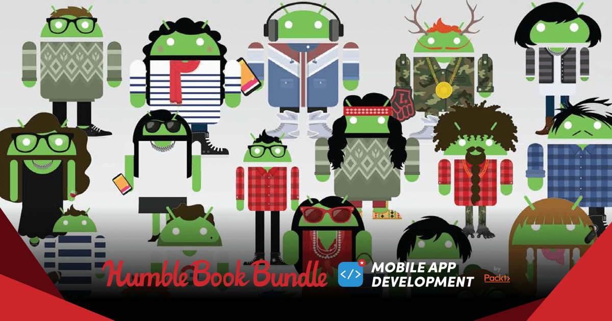 Pay what you want for The Humble Book Bundle: Mobile App Development by Packt