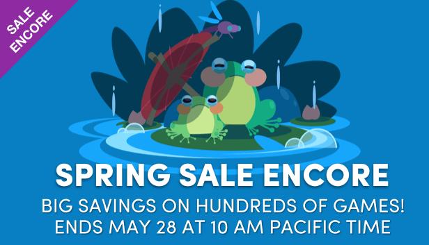Spring Sale Encore 2018