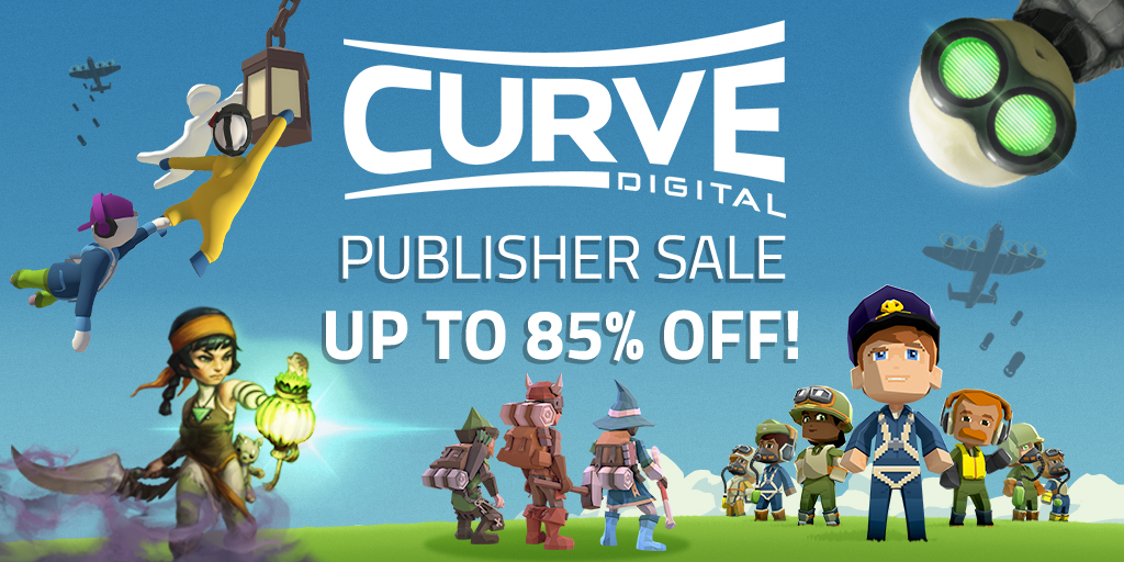 The Curve Digital Publisher Sale
