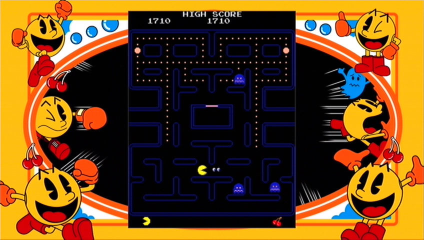 Pac-Man is a game that can be described succinctly.