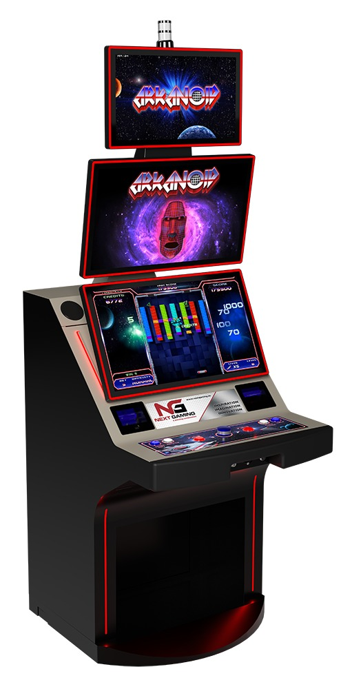 These machines are impressive to behold, with authentic arcade-style controls and action.