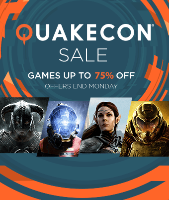 QuakeCon Sale