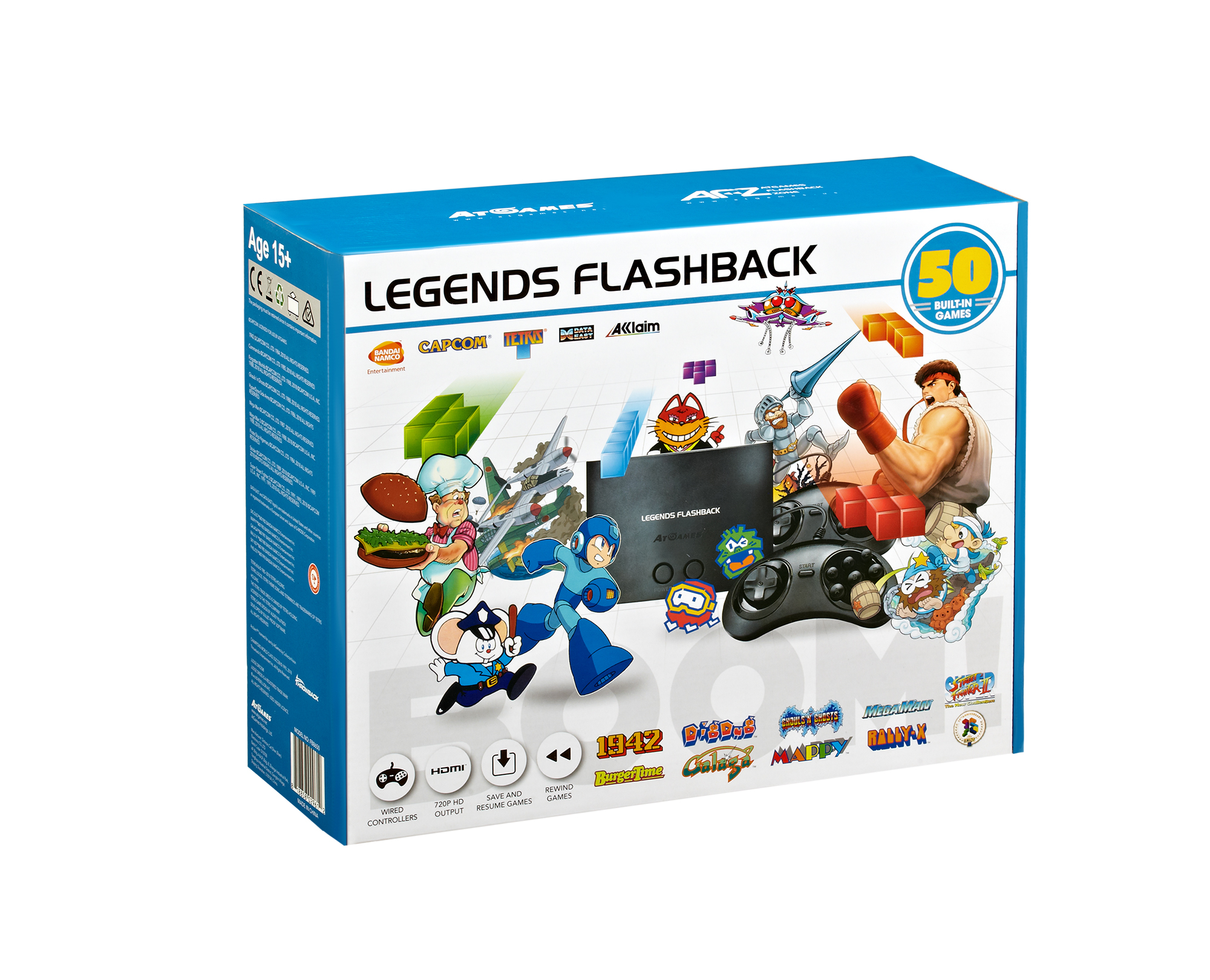 The Official Game List for the AtGames Legends Flashback Console (2018)