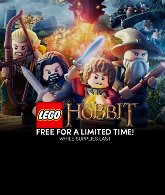 FREEcopies ofLEGO® The Hobbit™