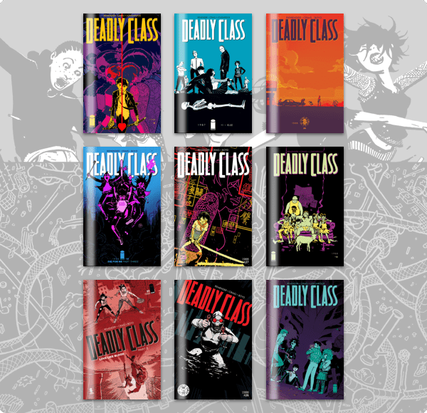 The Humble Comics Bundle: Deadly Class by Image Comics