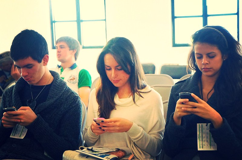 """""""Smartphones"""" (CC BY-SA 2.0) by clasesdeperiodismo"""