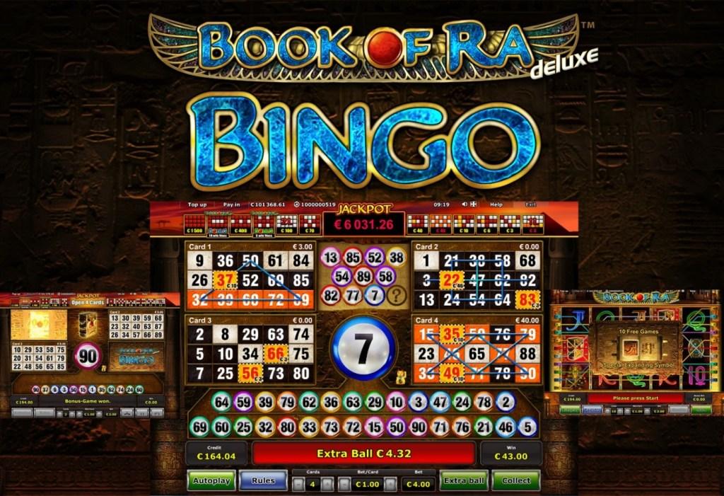 Afbeeldingsresultaat voor Book of Ra Bingo