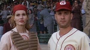 Geena Davis and Tom Hanks