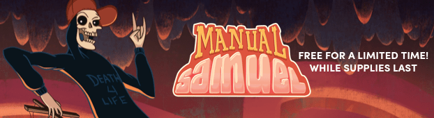 Free copy of Manual Samuel for Windows, Mac, and Linux on Steam!