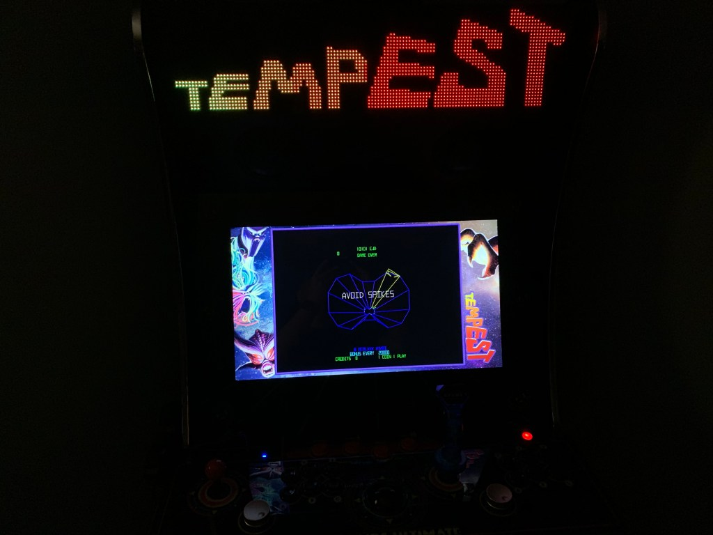 Tempest running on the Legends Ultimate with Pixelcade