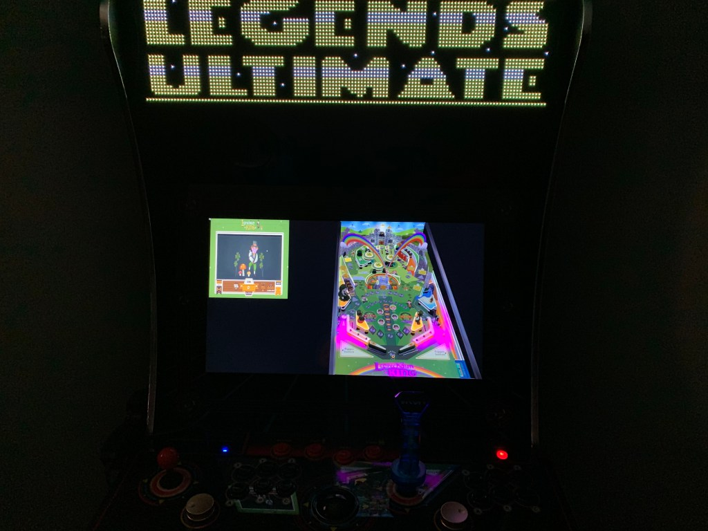 Leprechaun King running via pAOX on the Legends Ultimate