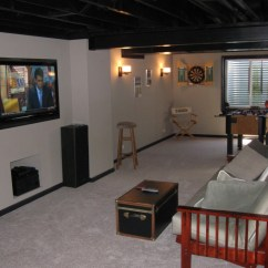 Cheap Living Room Furniture Houston Modern Design Ideas For Small Basement Finishing As An Owner Builder. Save Money On Your ...