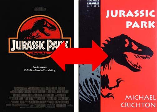 Jurassic Park 1993 The Book vs The Movie