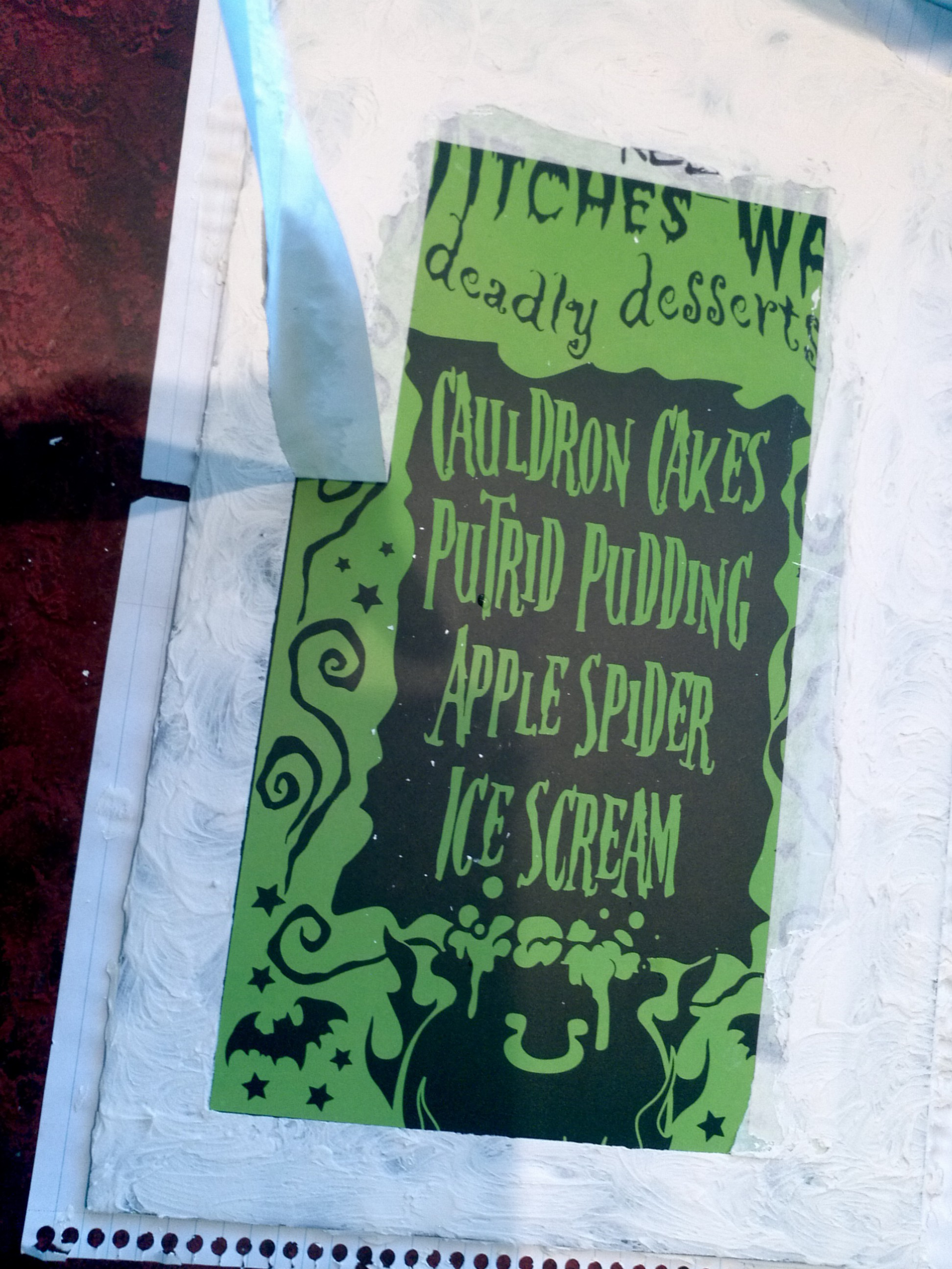 halloween chair covers dollar tree swing size from plaque to awesome chalkboard