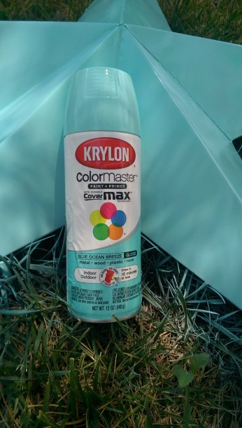 Krylon's Blue Ocean Breeze