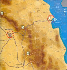 Forgotten Legions Bloody Keren Map Detail Color